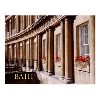 Royal Crescent, Bath Travel Postcard