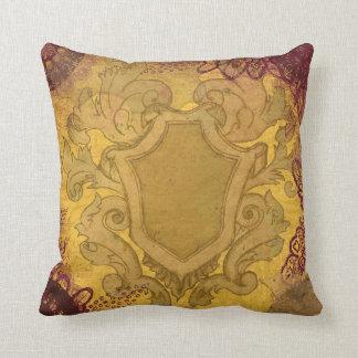 Royal Crest Design Pillow