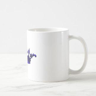 Royal Crown in Purple. Prince, Princess, King, Que Coffee Mugs