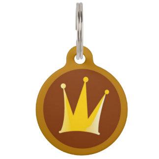 Royal Crown Pet ID Tag