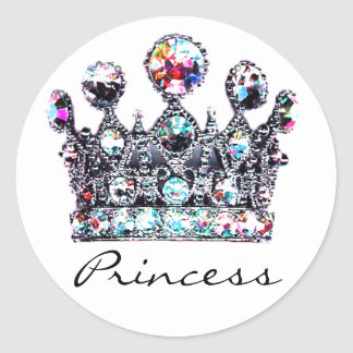 Royal Crown Princess stickers