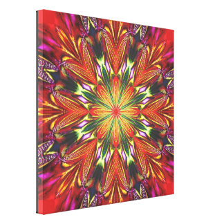 Royal Dahlia Stretched Canvas Prints