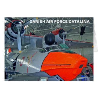 ROYAL DANISH AIR FORCE CATALINA CARD