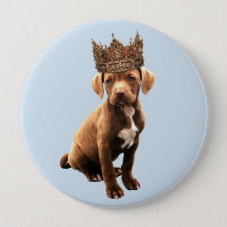 royal Dog #1 10 Cm Round Badge