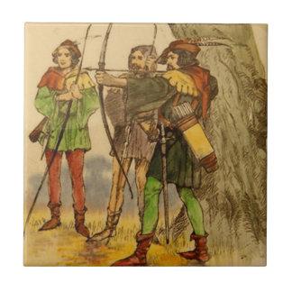 Royal Doulton Robin Hood Vintage Tile Design