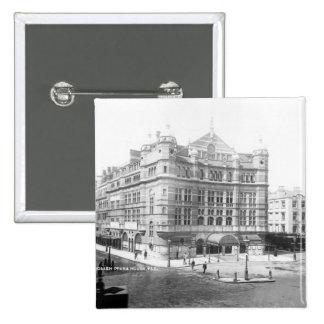 Royal English Opera House, 1891 15 Cm Square Badge