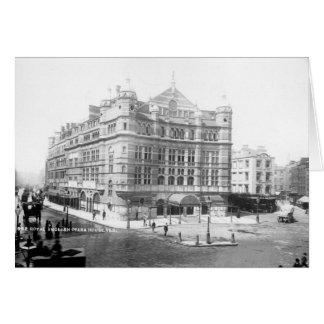 Royal English Opera House, 1891 Card