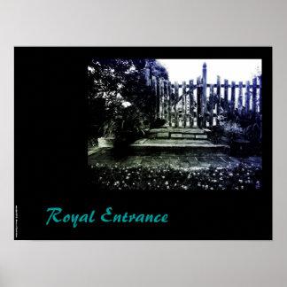 Royal Entrance Poster