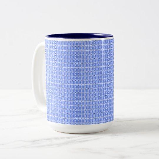 Royal Fabric's-Blue(c)Multi Styles & Colours Two-Tone Coffee Mug