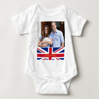Royal Family at Lindo Wing 3 Baby Bodysuit
