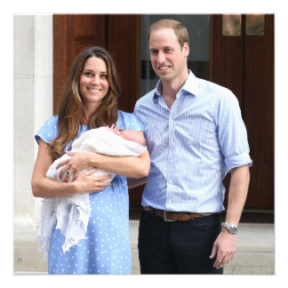 Royal Family at Lindo Wing Personalized Invites
