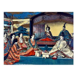 Royal family's wedding by Kasai,Torajirō Post Card