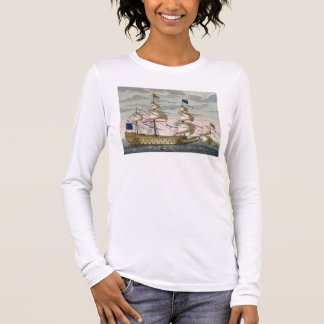 Royal (flagship) of the English fleet, flying the Long Sleeve T-Shirt