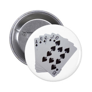Royal Flush Pinback Buttons