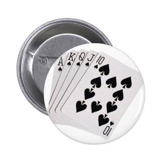 royal flush button