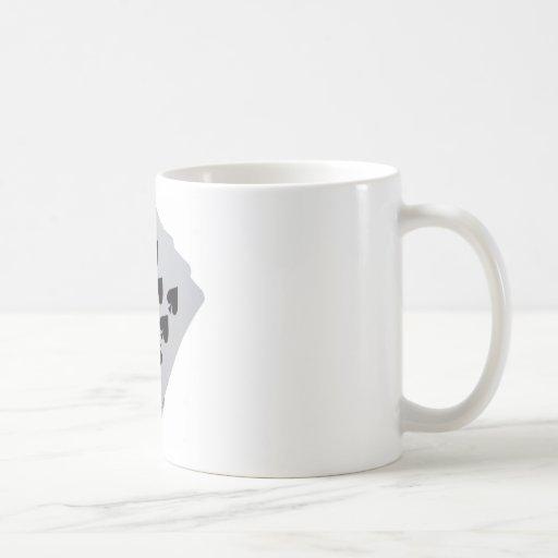 Royal Flush Classic White Coffee Mug