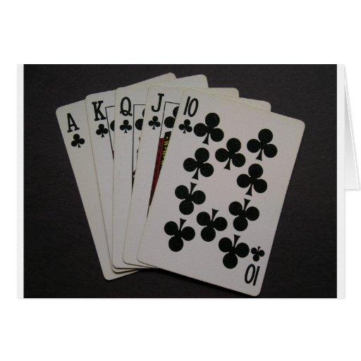 cards royal flush