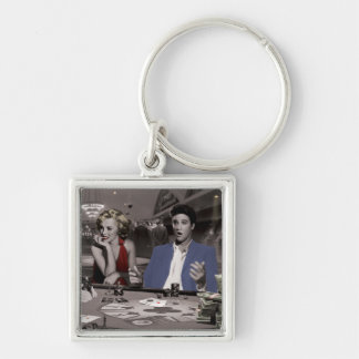 Royal Flush Key Ring