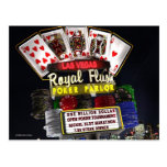 Royal Flush Poker FantaSign Retro Neon Sign Night