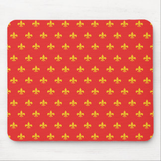Royal French Red Mousepad