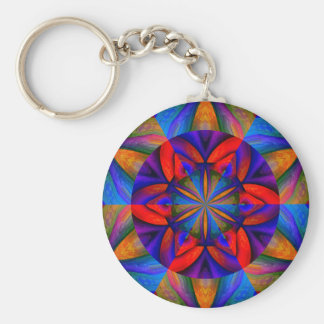 Royal Garden Basic Round Button Keychain