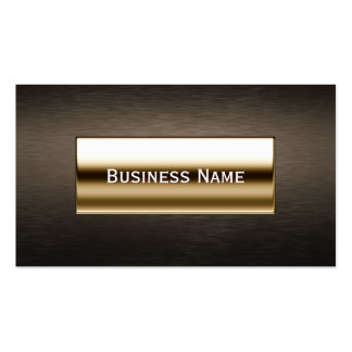Royal Gold Label Lawyer/Attorney Business Card