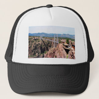 Royal Gorge Bridge,  the highest in USA Trucker Hat