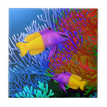 Royal Gramma Coral Reef Fishes Tile