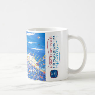 Royal Greenwich Tall Ships Regatta Art Mug