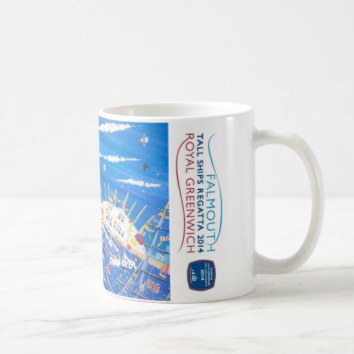 Royal Greenwich Tall Ships Regatta Art Mug