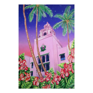 Royal Hawaiian Hotel Poster