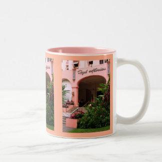 Royal Hawaiian Hotel Two-Tone Coffee Mug