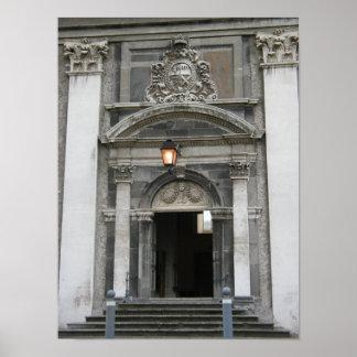 Royal Hospital Kilmainham, Antique Doorway Poster