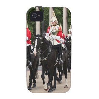 Royal Household Cavalry, London, England iPhone 4 Cover