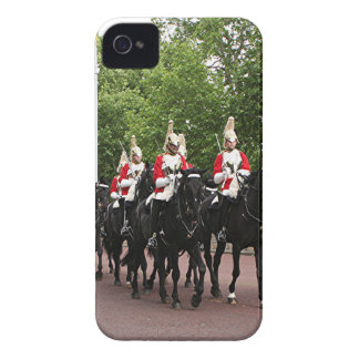 Royal Household Cavalry, London iPhone 4 Cover