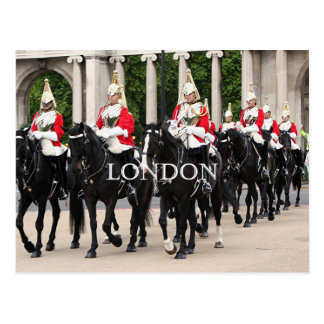 Royal Household Cavalry, London Postcard