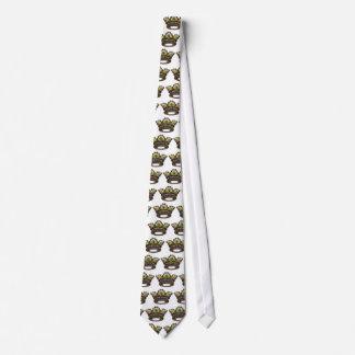 Royal jeweled crown tie
