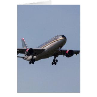 Royal Jordanian Airlines Airbus A330 Card