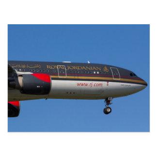 Royal Jordanian Airlines Airbus A330 Postcard