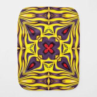 Royal Kaleidoscope   Burp Cloth