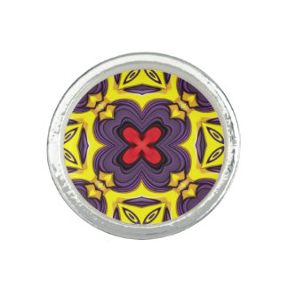 Royal Kaleidoscope   Custom Rings