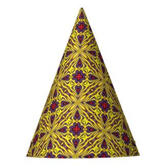 Royal Kaleidoscope  Customizable Party Hats