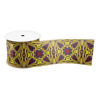 """Royal Kaleidoscope    Ribbon. 1.5"""" or 3"""" Satin Ribbon"""