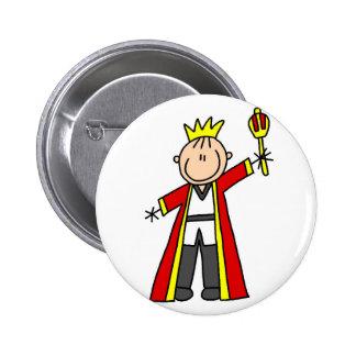 Royal King Button