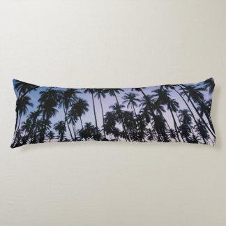 Royal Kupuva Palm Grove at Kaunakakai Body Cushion