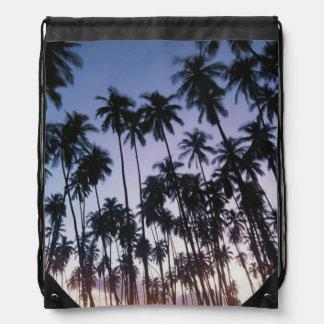 Royal Kupuva Palm Grove at Kaunakakai Drawstring Bag