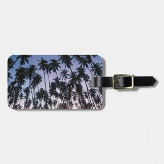 Royal Kupuva Palm Grove at Kaunakakai Luggage Tag