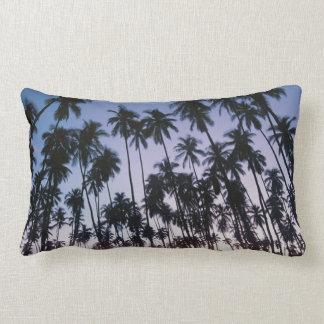 Royal Kupuva Palm Grove at Kaunakakai Lumbar Cushion