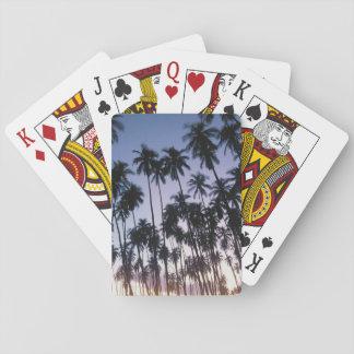 Royal Kupuva Palm Grove at Kaunakakai Playing Cards