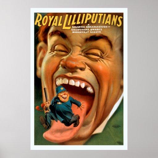Royal Lilliputians Vintage Poster